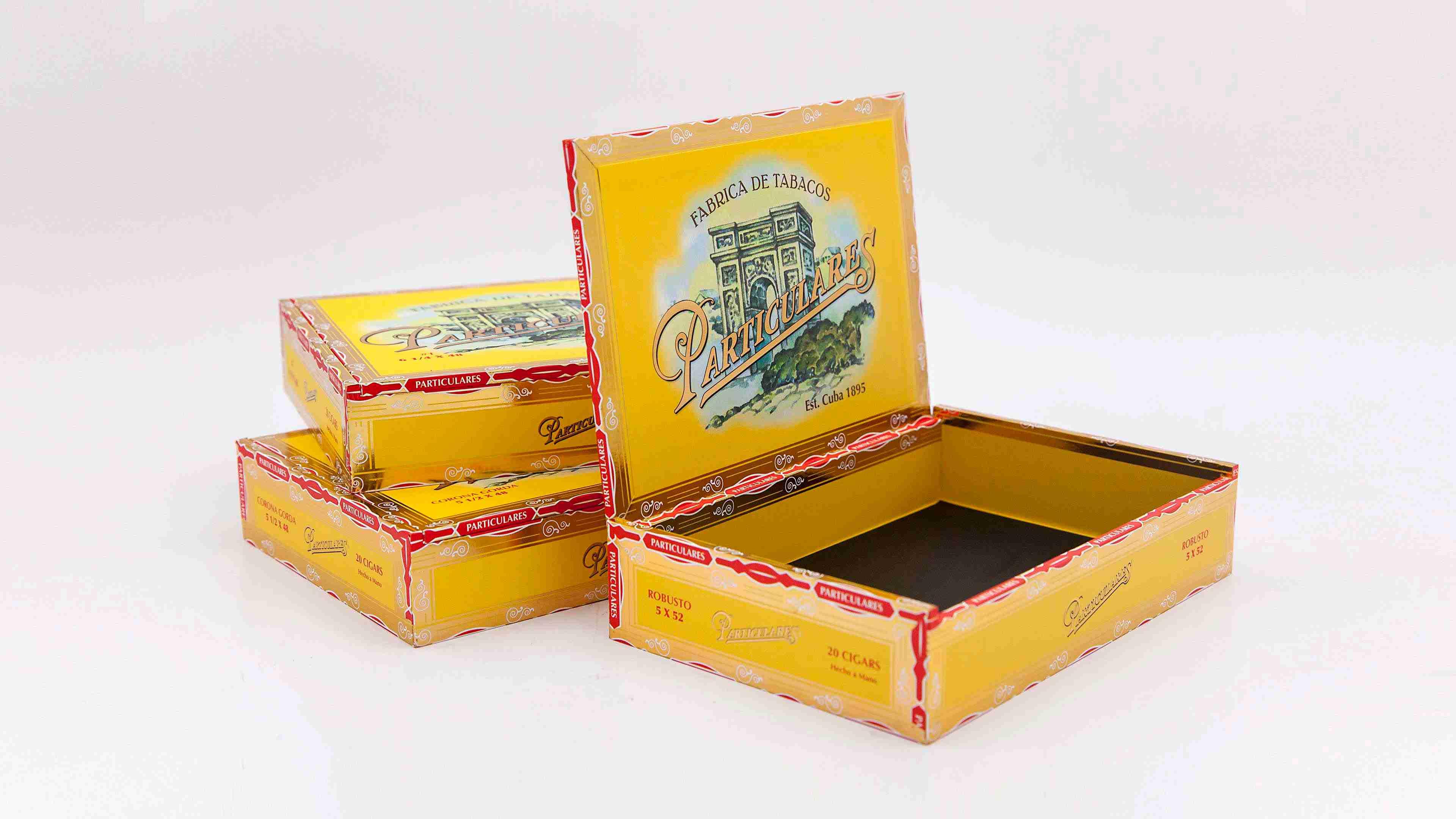 Particulares Cigar Boxes
