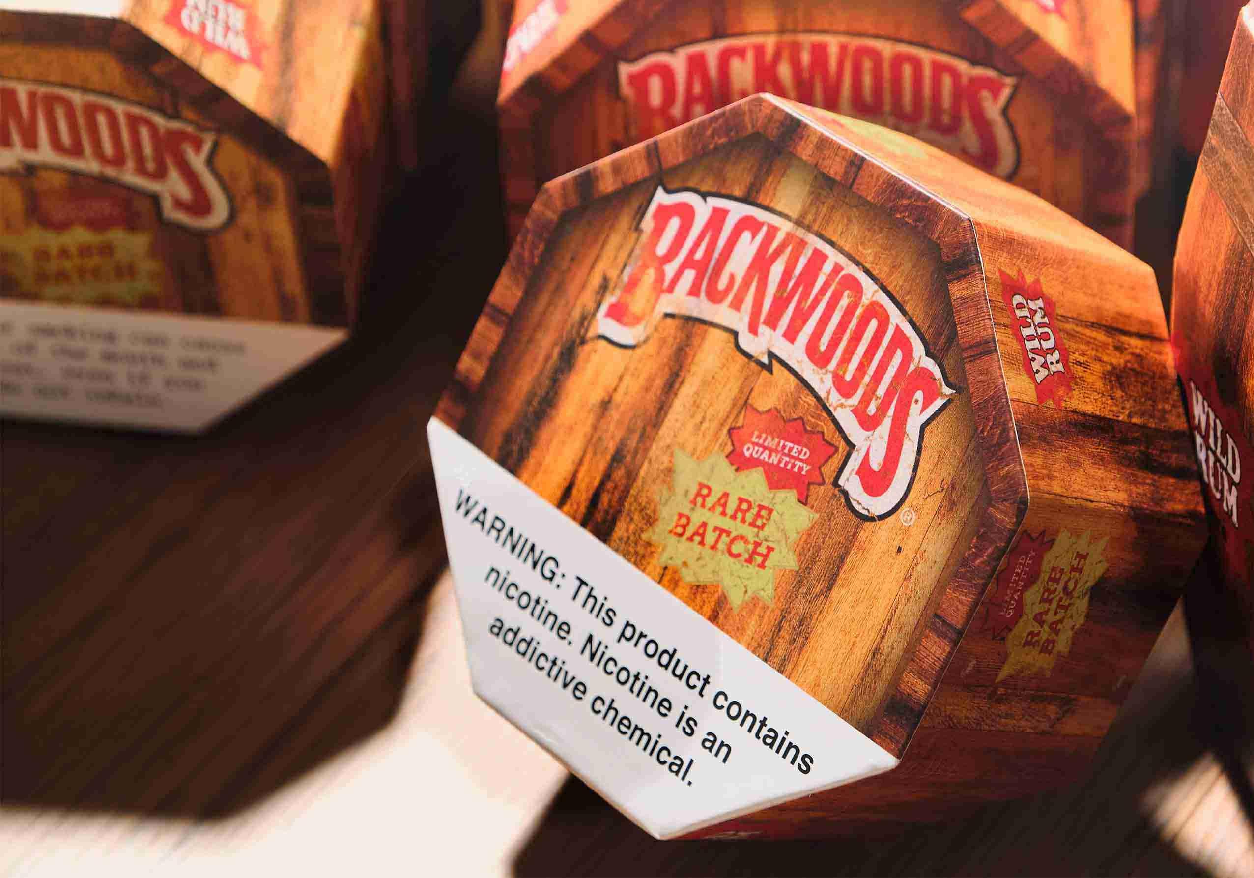 Backwoods Wild Rum Cigar Barrel
