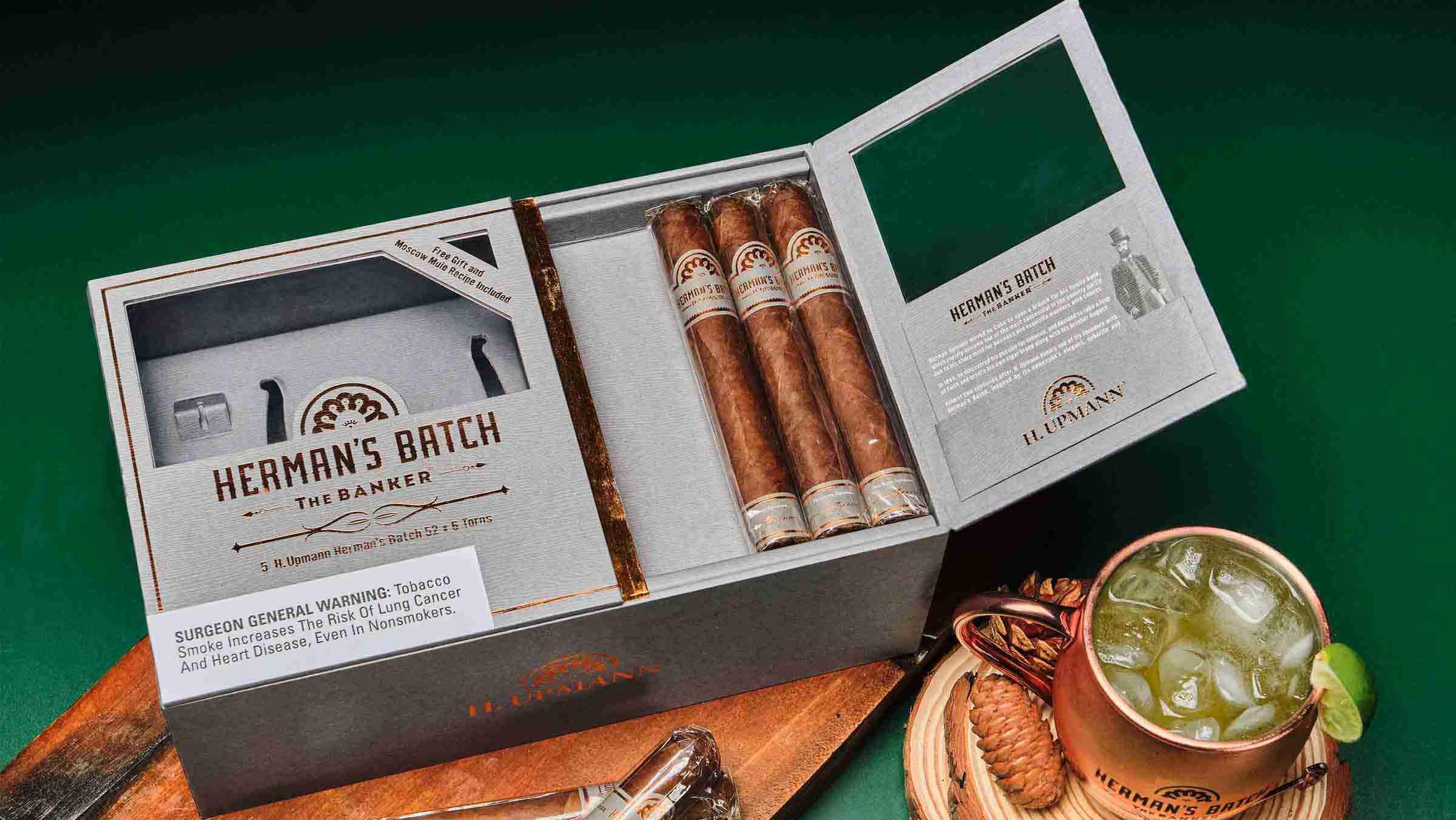 H. Upmann Herman's Batch Cigar Set
