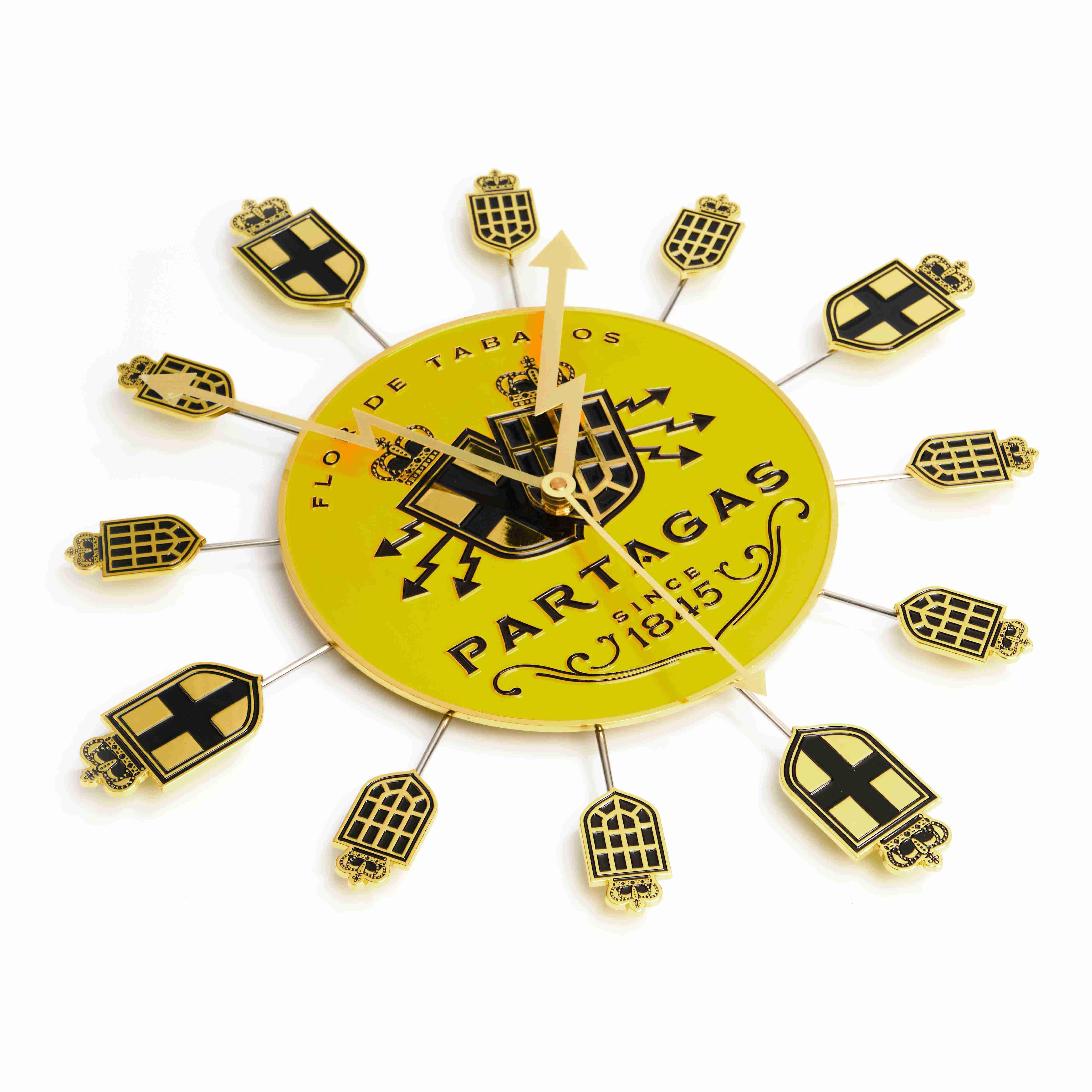 Partagas Clock