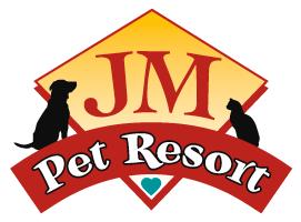 JM Pet Resort Logo