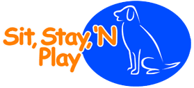 Sit, Stay, 'N Play Logo