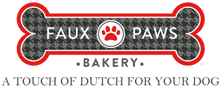 Faux Paws Bakery Logo