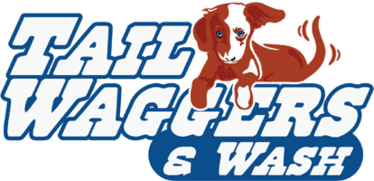 Tail Waggers and Wash Logo