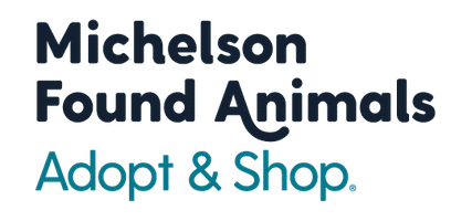Michelson Found Animals Adopt & Shop Logo