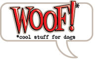 WOOF Cool Stuff for Dogs Logo