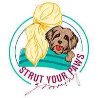 Strut Your Paws Grooming Logo