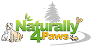 Naturally 4 Paws Logo