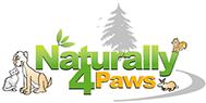 Naturally 4 Paws Logo