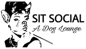 SIT Social: A Dog Lounge Logo