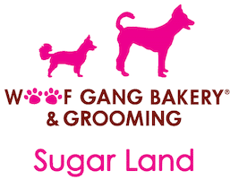 Woof Gang Bakery and Grooming Sugar Land Logo