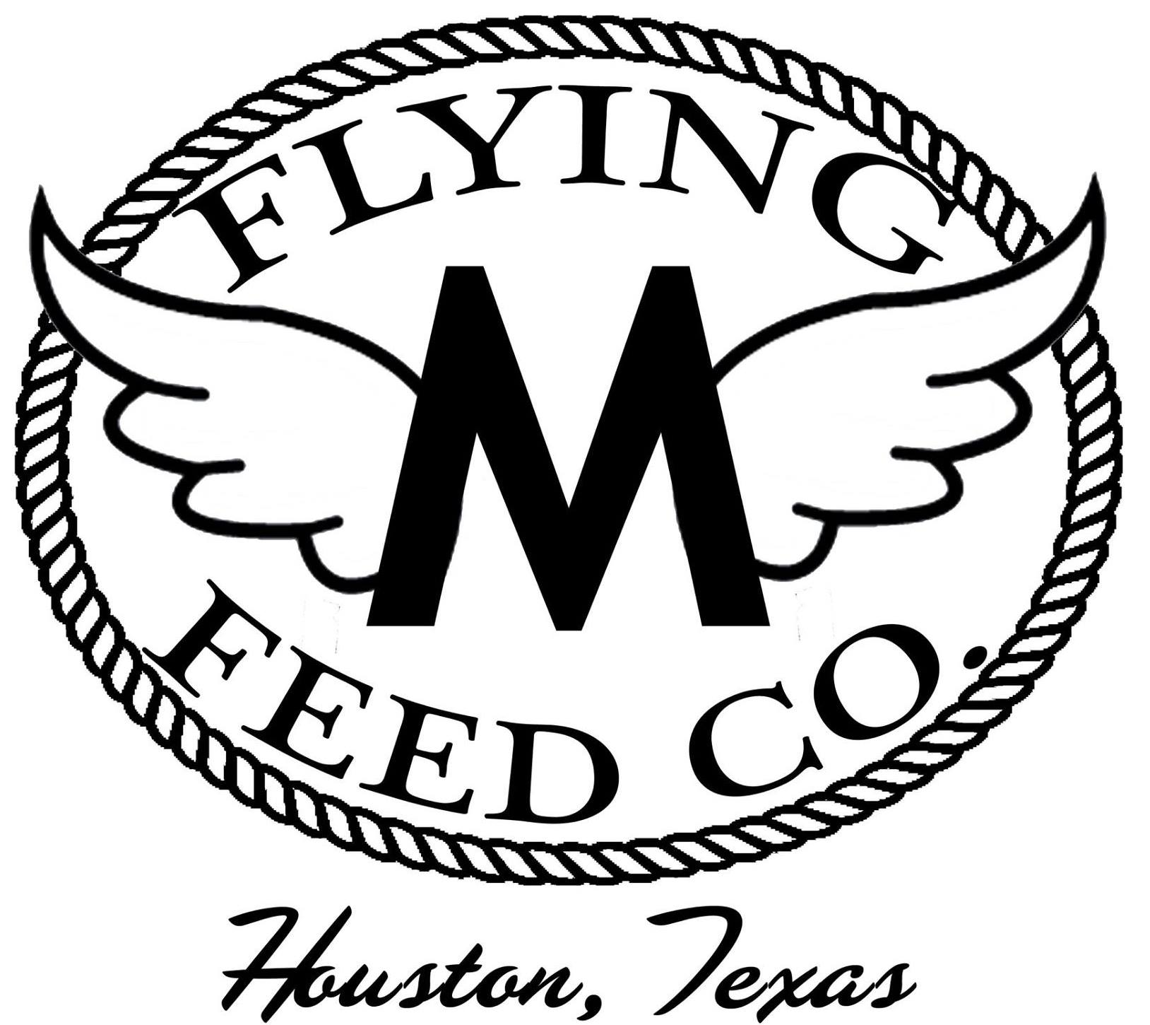 Flying M Feed Co Logo
