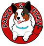 Paws & Fins Pet Shop Logo