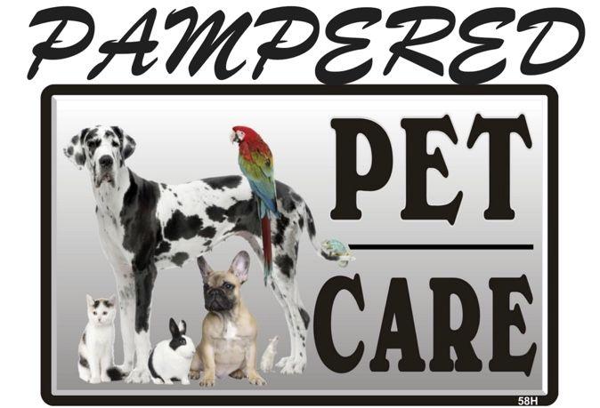Pampered Pet Care Logo