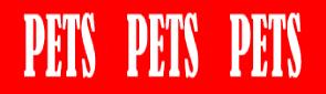 Pets Pets Pets Logo