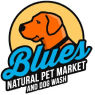 Blue's Pet Market and Dog Wash Logo