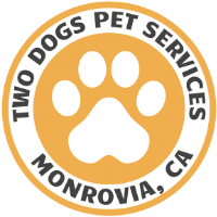 Two Dogs Pet Services Logo