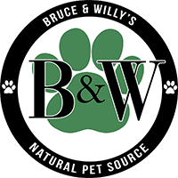 Bruce & Willy's Natural Pet Source Logo