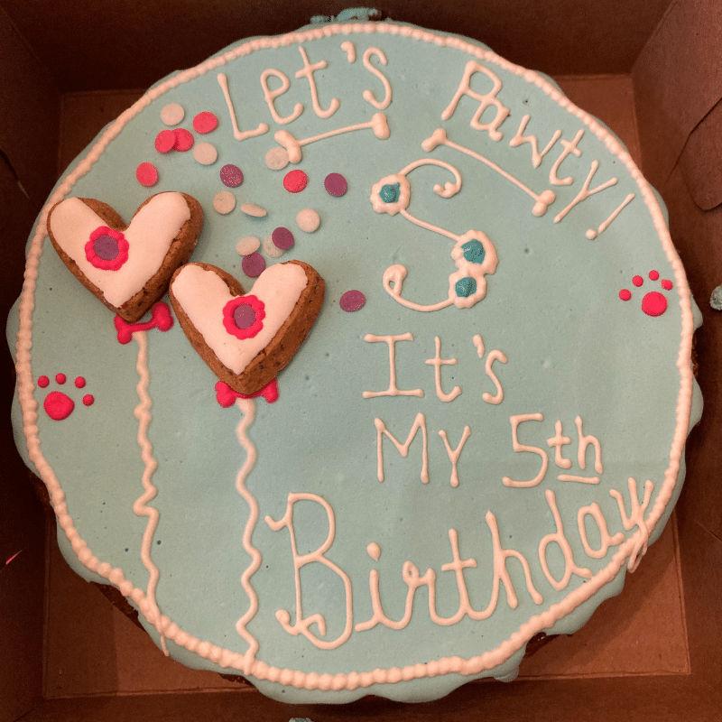 Woog Gang Bakery Custom Gourmet Dog Cake