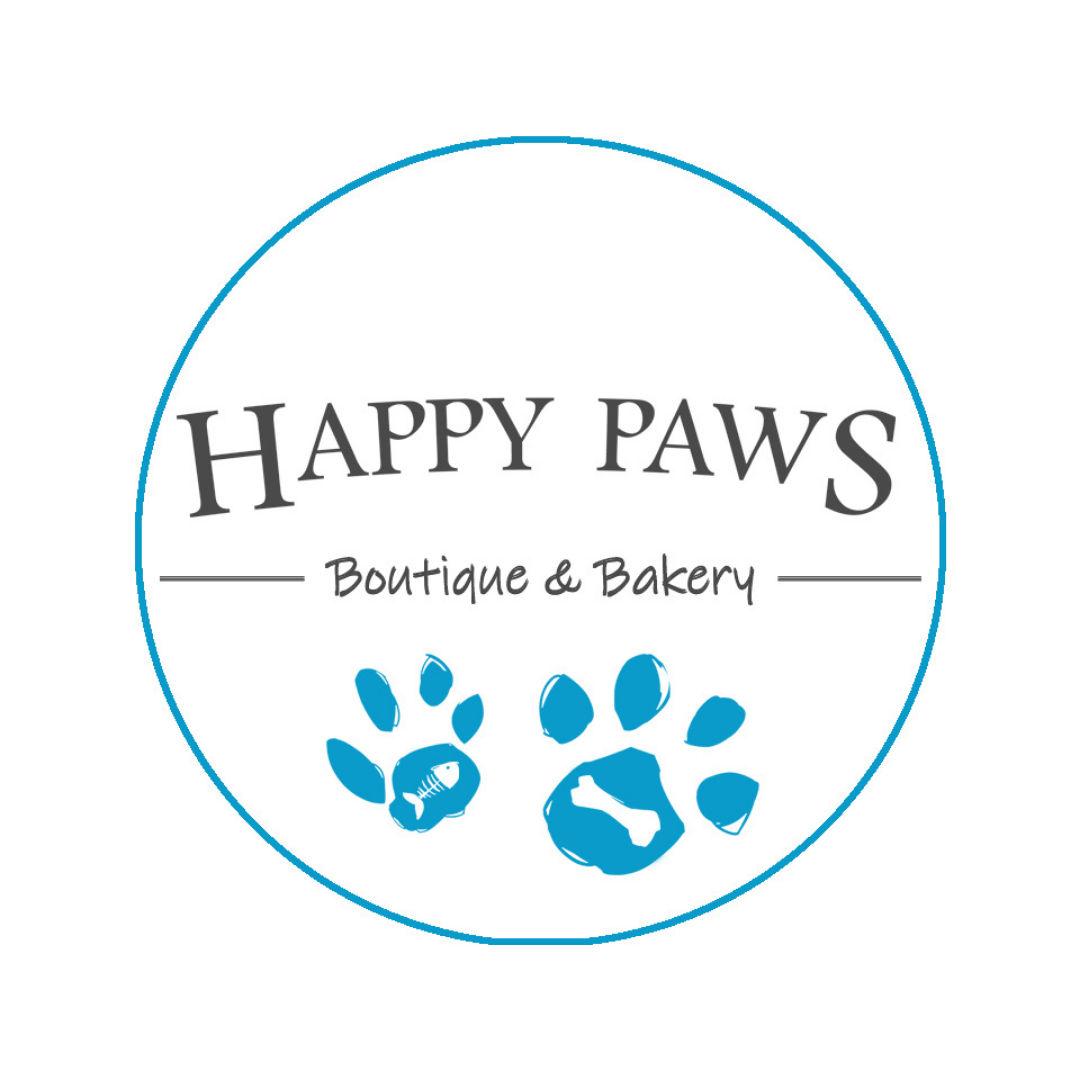 Happy Paws Boutique & Bakery Logo