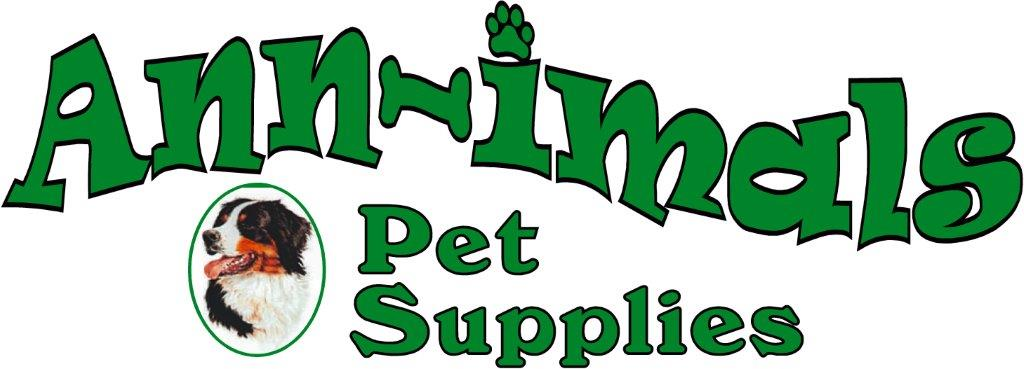 Ann-imals Pet Supply Store Logo