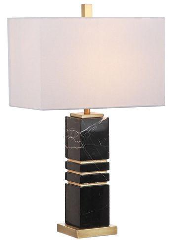 "Jaxton Marble 27.5-Inch H Table Lamp, 16"" X 27.5"""