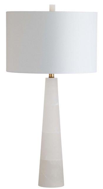 "Delilah Alabaster Table Lamp, 15"" X 30"""