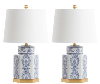 """Bodin Table Lamp, 14"""" X 23"""", Set Of 2"""