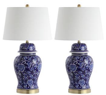 "Aharon Table Lamp, 17"" X 30.5"", Set Of 2"