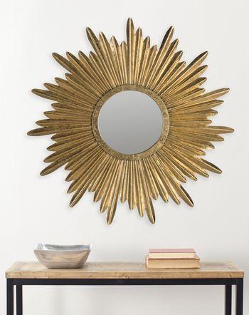 """Josephine Sunburst Mirror, 33.5"""" X 1"""""""