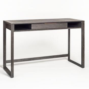 Riley Desk In Brushed Carbon