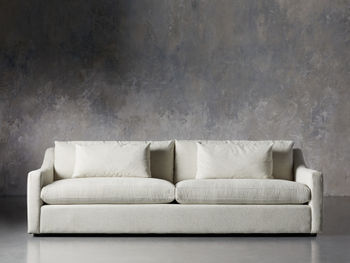 """Ashby Upholstered 106"""" Sofa In Cushing Frost"""