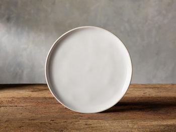 Avignon White Polished Salad Plate (Set Of 4)