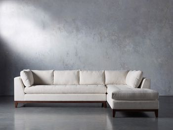"""Bryden Upholstered 129"""" Right Arm Daybed Sectional"""
