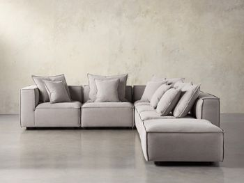 Coburn Upholstered Six Piece Sectional