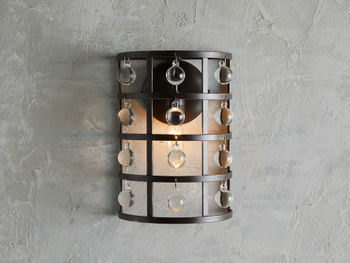 La Cage 1 Light Wall Sconce In Bronze