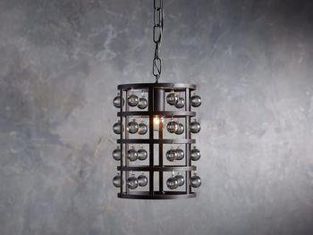 La Cage Pendant In Bronze