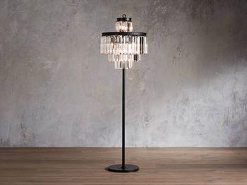 Leyland Floor Lamp In Bronze