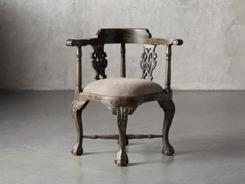 Merle Corner Chair In Brown