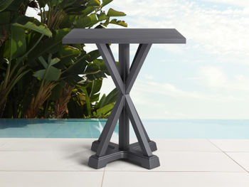 """Montego Outdoor 42"""" Bar Table In Slate"""