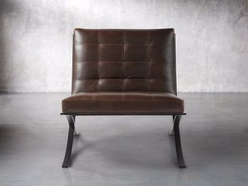 """Moxie 30"""" Leather Chair"""