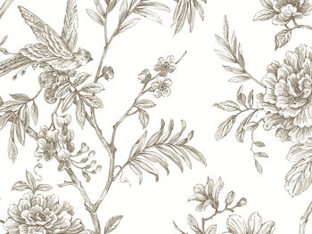 Sanctuary Wallpaper In Taupe