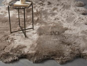 Sheepskin Wool 8' X 6' Rug In Vole