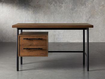 "Sullivan 52"" Writing Desk In Northman Oak"