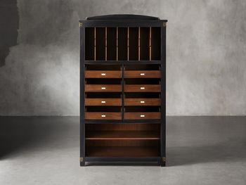 Telegraph Storage Cabinet In Spencer Brown