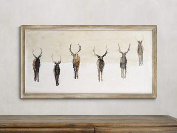 "The Herd 30"" X 17"" Print"