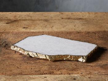 White Quartz Cheese Board