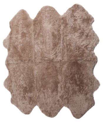 Rug Sw 4Sc Curly Sexto Taupe