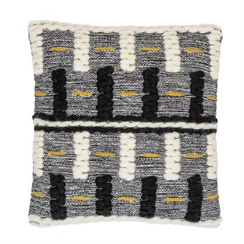 20,Square Wool Woven Pillow, Multi-Color