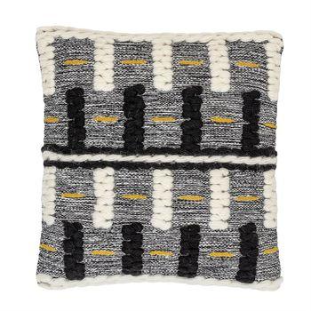 """Pillow, Modern & Textured in Woven Wool Design, 20"""" x 20"""""""